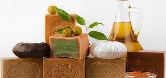 -мыло с оливковым маслом