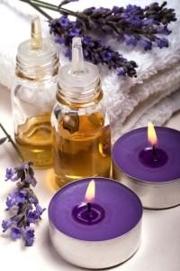 аромамасла и свечи
