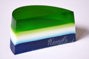 Миграция цвета в мыле слоями