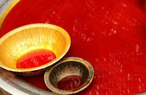 красное масло из пальмовых плодов