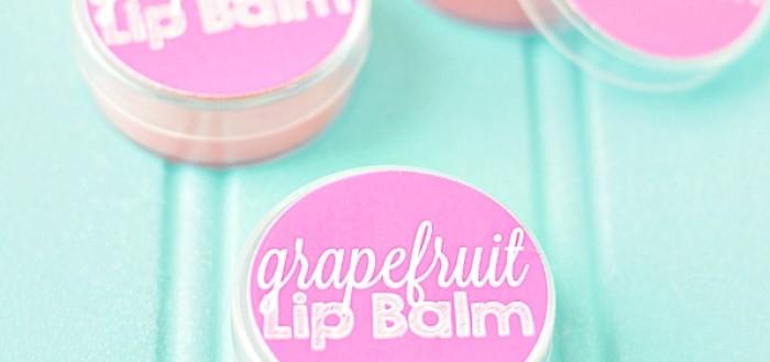 розовый бальзам для губ