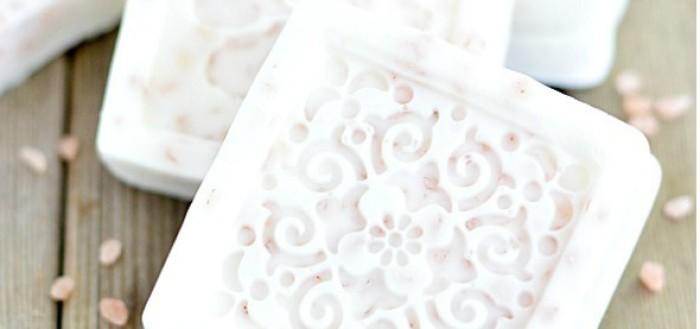 мыло своими руками с гималайской солью и грейпфрутовым маслом