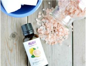 гималайская соль и грейпфрутовое масло