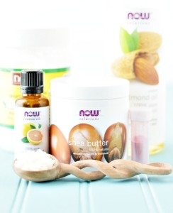 ингредиенты для грейпфрутового бальзама для губ