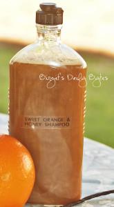 шампунь из органической кастильской основы с медом