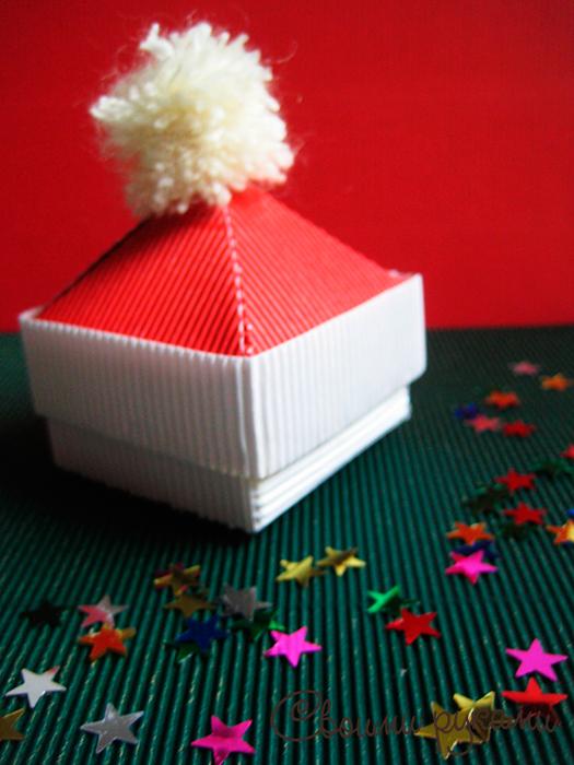 Подарочные коробочки на Новый Год