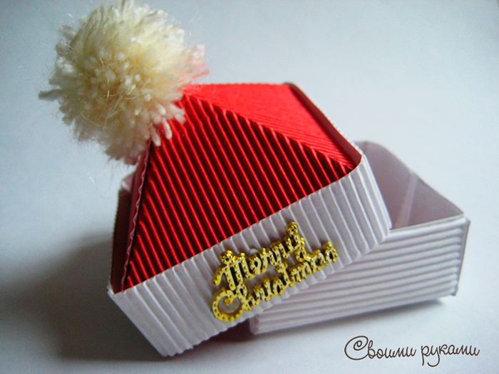 Новогодние коробки под конфеты
