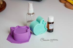 необходимый набор для переварки мыла из основы своими руками
