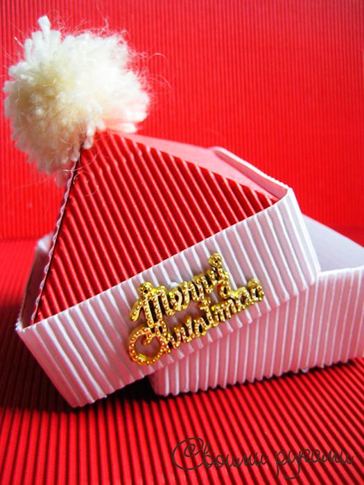 Новогодняя упаковка для конфет