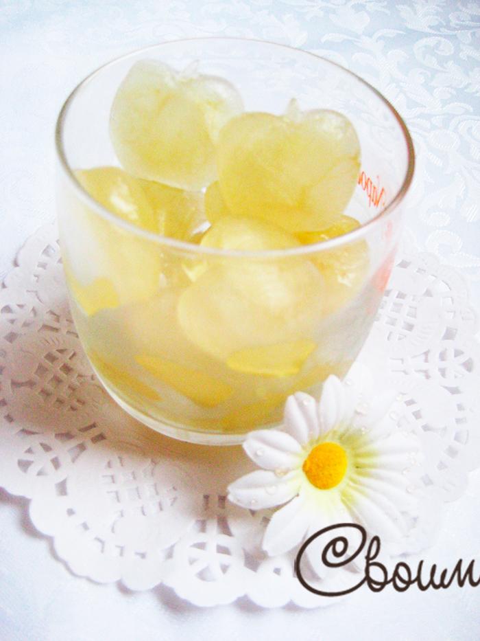 Косметический лед из ромашки
