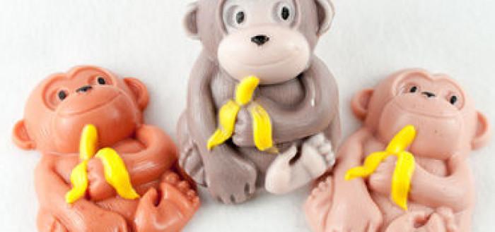 Мыло в виде обезьяны