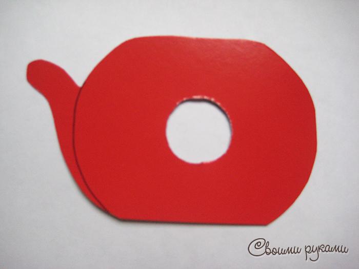 Шаблон упаковки для конфет