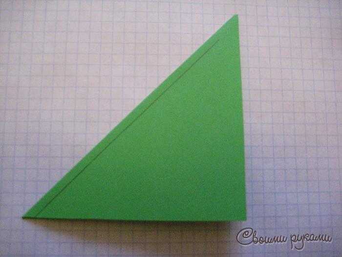 Шаблон подарочного пакета из бумаги
