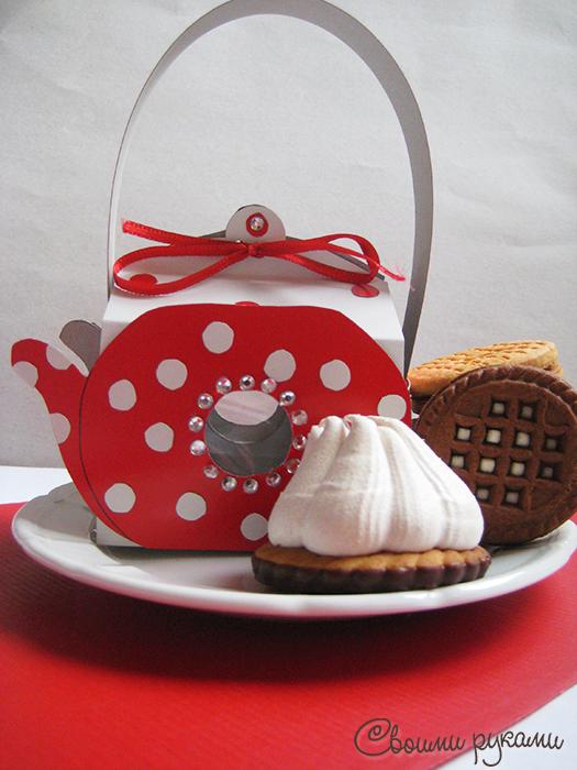 Упаковка для сладостей ручной работы