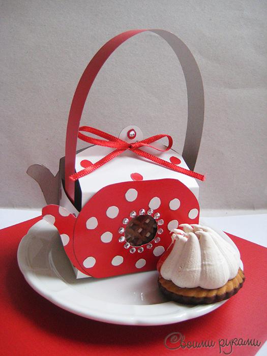 Упаковка для конфет и печенья своими руками