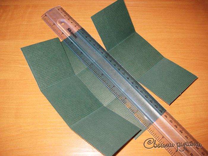 Упаковка для елочных шаров шаблон