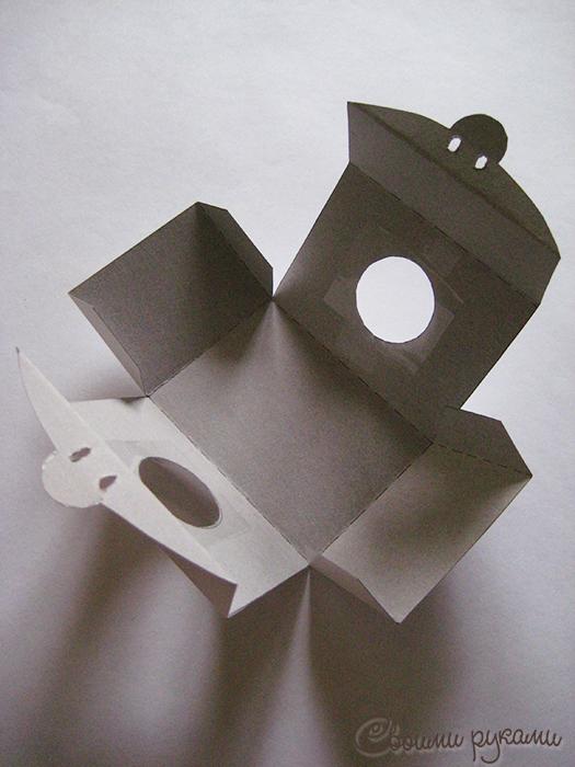 Заготовка для картонной упаковки
