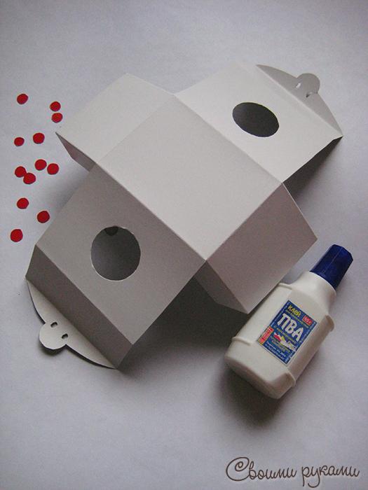 Шаблон упаковки для мыла