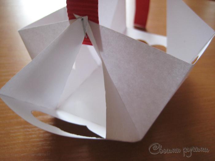 Сумочка из бумаги