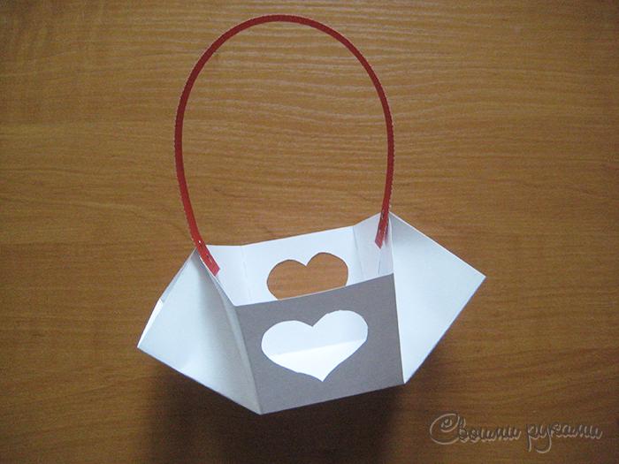 Коробочка на День Влюбленных