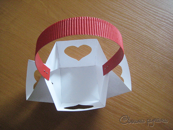 Упаковка сумка из бумаги