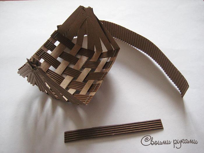 Упаковка из картона ручной работы