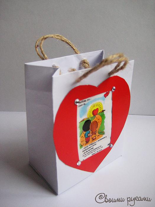 Упаковка подарков на 14 февраля