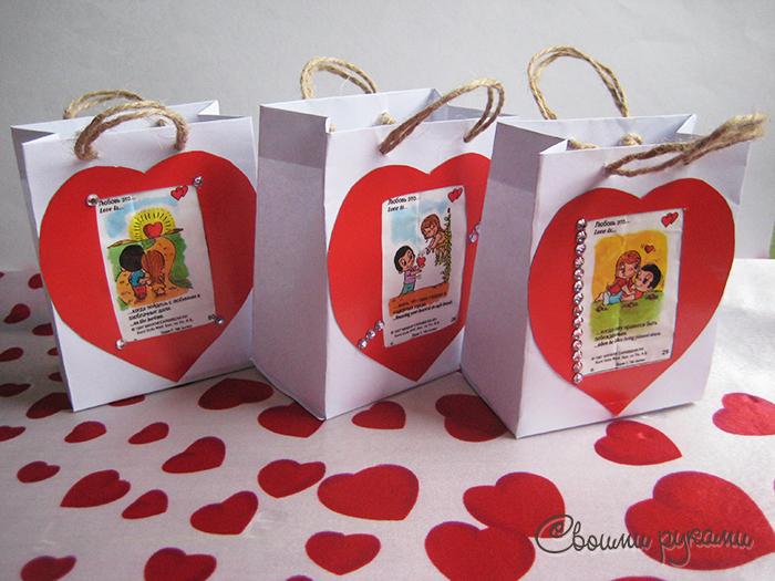Упаковки для подарков ко Дню всех влюбленных