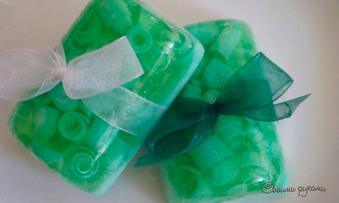 Прозрачное мыло в домашних условиях