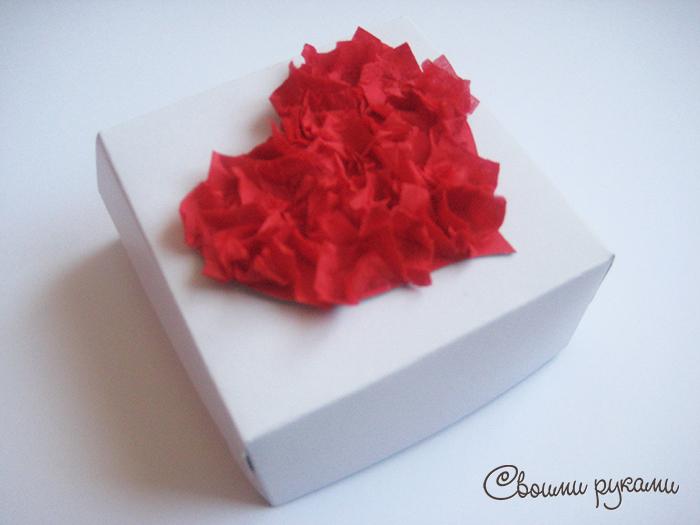 Коробочка на день святого валентина