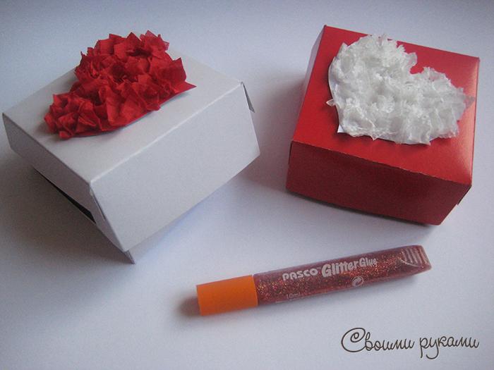 Как сделать коробочку на день святого валентина