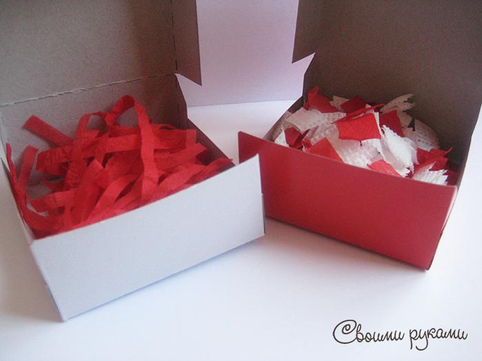 Упаковка на день святого валентина своими руками