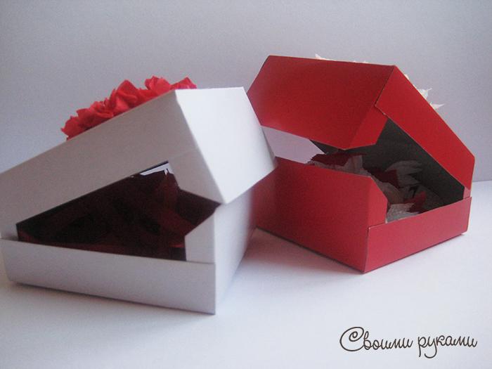 Упаковка подарков ко дню святого валентина