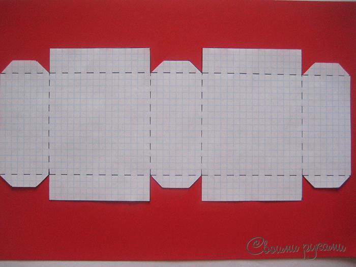 Коробочки упаковки шаблоны