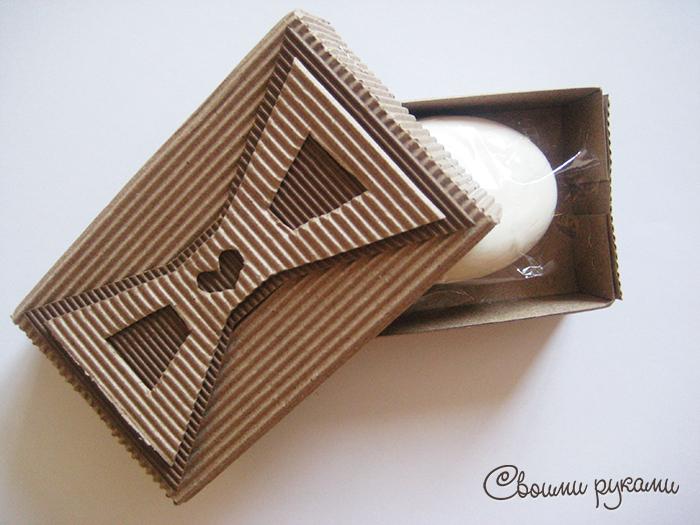 Упаковка для мыла ручной работы