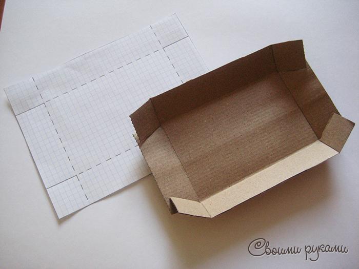 Шаблон упаковки ручной работы